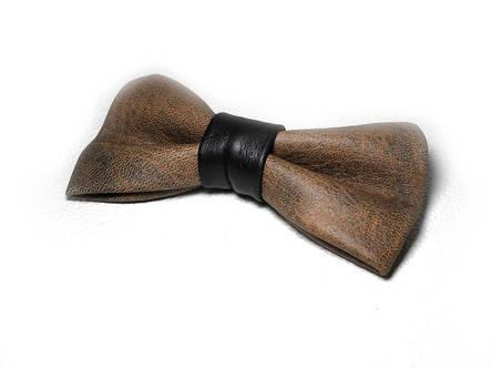 Кожаная галстук-бабочка 9901LB, фото 2