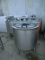 Емкость нержавеющая, с рубашкой, термоизоляцией, электрическим нагревом, мешалкой рамного типа с нижним упором, фото 1