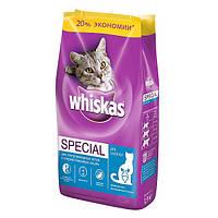 Корм Whiskas (Вискас) Special pH Control для кастрированных котов и стерилизованных кошек 5кг