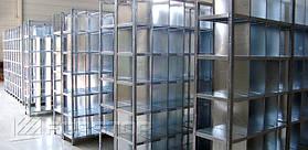Металлические стеллажи с нагрузкой до 100 кг на уровень хранения