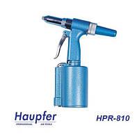 Заклёпочник пневматический HAUPFER HPR-810 для работы с вытяжными заклёпками от 2,4 до 4,8мм