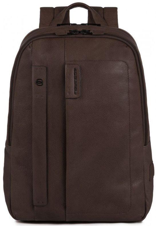 Кожаный рюкзак Piquadro PULSE CA3869P15S_TM, 13л., коричневый