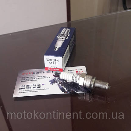Свеча зажигания  DENSO DS 4126 / U24ESRN аналог NGK  CR8E, фото 2