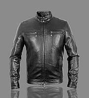 Куртка кожаная демисезонная мужская.Турция.