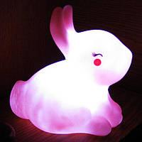 Ночник детский Кролик (на батарейках)