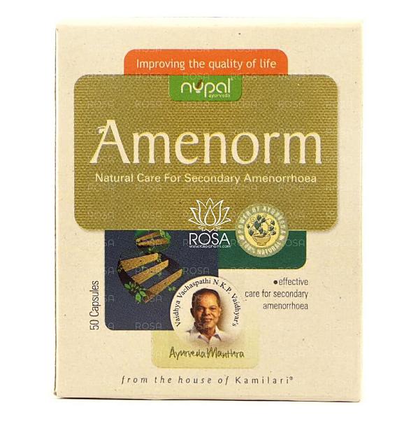Аменорм Нупал Ремедиз,Nupal,50 капс-при аменореї