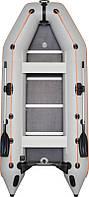 Надувная лодка Колибри КМ-360Д + алюминиевый настил, фото 1