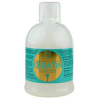 Шампунь для волосся з кератином 1000мл Keratin Shampoo Kallos KJMN