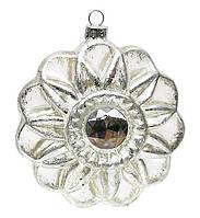 Елочное украшение в форме цветка с кристаллом, 10см BonaDi SA0-761
