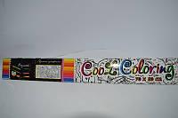 Игрушка детская Раскраска MAXI Cool Coloring 1109/1100 (70*50см) в короб 53*7*7см