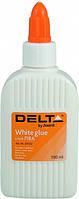 Клей ПВА 100мл колпачек-дозатор D7122 Delta