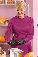 Китель-рубашка поварская женская на кнопках с поясом