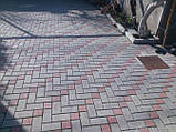 Тротуарная плитка - Кирпич 60мм, фото 4