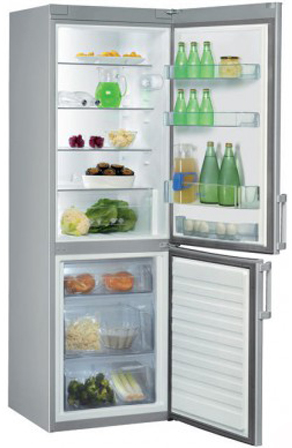 Холодильник Whirlpool WBE 3414 TS ( 2-х камерный, А+,нержавеющая сталь)