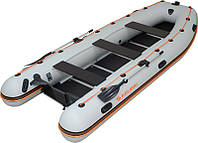 Надувная лодка Колибри КМ-450Д + алюминиевый настил, фото 1