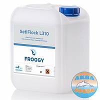 Химия для бассейнов SetiFlock L310 1л.(жидкий коагулянт, предназначенный для очистки и осветления воды)