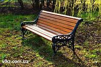 Скамейка чугунная парковая «Адель»