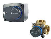 Комплект трехходовой клапан Afriso ARV 384 + электропривод ARM 343
