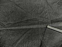 Коттон - стрейч меланж (т. серый) (арт. 04164) Италия отрез 0,72 м