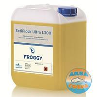 Химия для бассейнов SetiFlock Ultra L300 5л. (для очистки и осветления мутной воды)