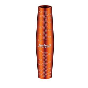 Измеритель диаметра подседельной трубы ICE TOOLZ от 25 до 31,8mm