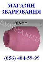 Керамическое сопло № 4 L=25.5 мм NW 6.5 мм под диффузор ABITIG / SRT 9 / 20