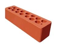 Кирпич половинка СБК - морковный