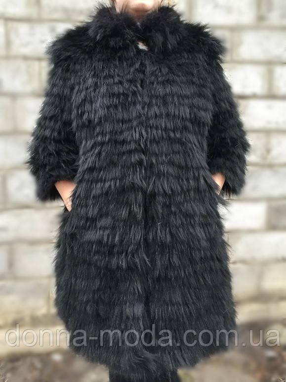 Женский  жилет-пальто из натурального меха скандинавского песца., фото 1