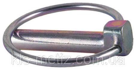 DIN 11023 Шплинт (штифт) быстросъемный с кольцом, фото 2