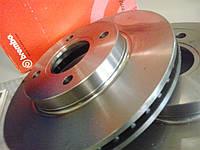 Тормозные диски Brembo вентилируемые / литые (производитель страна Италия)