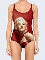 """Купальник 3D """"Marilyn in red"""" (р."""