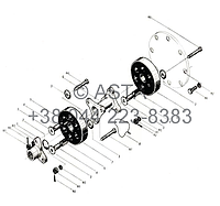 ПРИВОДНОЙ ВАЛ - Z35F0105