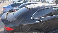Спойлер на Honda Accord 7 (спойлер на крышку багажника Хонда Аккорд 7 с просветом)