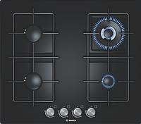 Варочная поверхность Bosch PPH 616B81E (газовая, 59 см, черный)