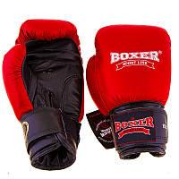 Боксерские перчатки для соревнований Boxer Profi ФБУ, 10oz,12oz