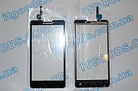 Оригинальный тачскрин / сенсор (сенсорное стекло) для Lenovo P780 (черный цвет, чип Synaptics)