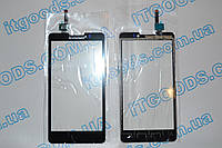 Оригинальный тачскрин / сенсор (сенсорное стекло) для Lenovo P780 (черный цвет, чип Synaptics), фото 1