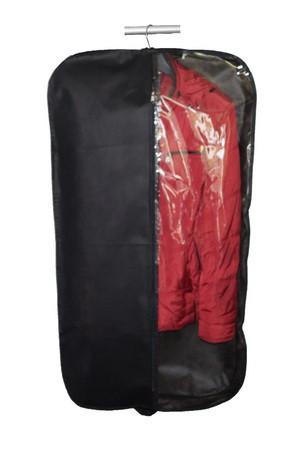 Чехол для одежды дышащий с прозрачной стороной