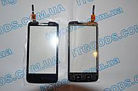 Оригинальный тачскрин / сенсор (сенсорное стекло) для Lenovo A820 (черный цвет, чип Goodix) + СКОТЧ В ПОДАРОК