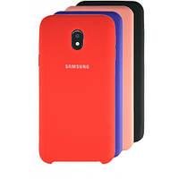 Чехол Silicone Case для Samsung Galaxy J3 2017 J330 прорезиненный оригинальный