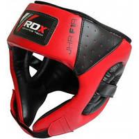 Боксерский шлем детский RDX Red.  Красный