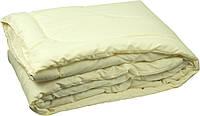 Одеяло закрытое однотонное бамбуковое волокно прессованное (Микрофибра) Полуторное #1034