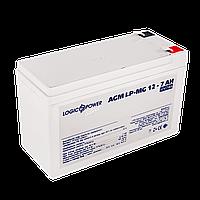 Аккумулятор мультигелевый AGM LogicPower LPM-MG 12 - 7 AH, фото 1