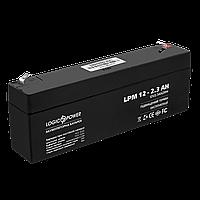 Аккумулятор кислотный AGM LogicPower LPM 12 - 2,3 AH, фото 1
