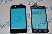 Оригинальный тачскрин / сенсор (сенсорное стекло) для FLY IQ440 (черный цвет) + СКОТЧ В ПОДАРОК