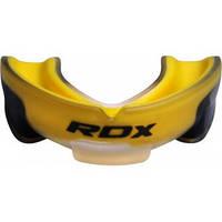 Капа боксерская RDX Gel 3D Elite Gold.  Желтый