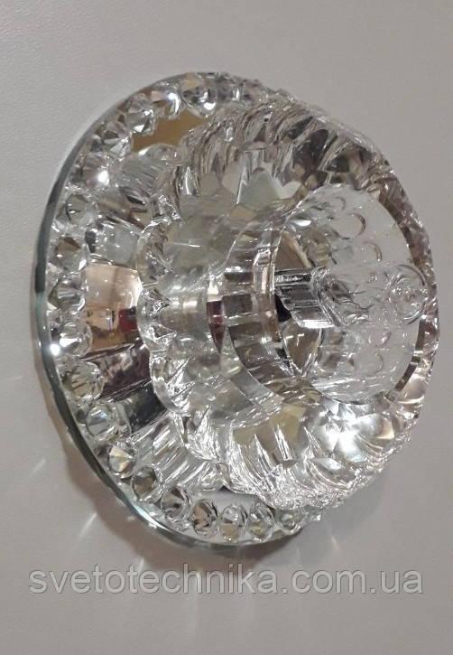 Встраиваемый светильник Feron JD125 прозрачный