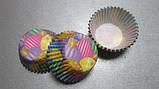 Форма бумажная для выпечки маффинов, кексов, капкейков  Воздушные шары, фото 2