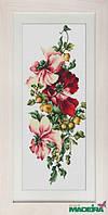 Luca-S Набор для вышивки крестом Цветы и крыжовник 3001ВМ