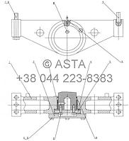 ЗАДНЯЯ ПОДВЕСКА -Z35H0503